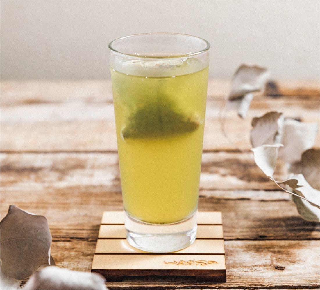 蕎麥鮮綠茶 (I)