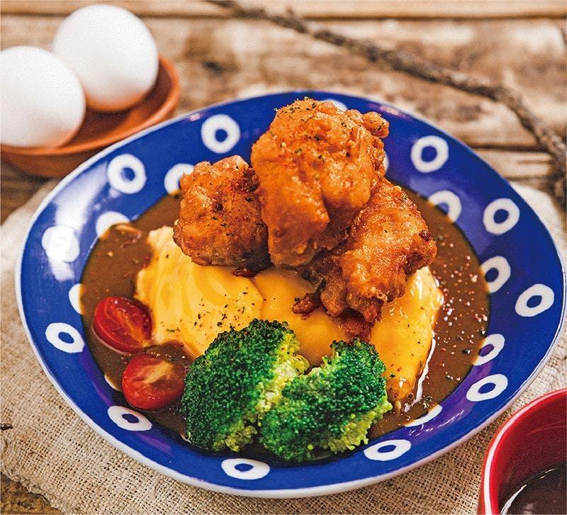 唐揚炸雞咖哩飯🌶