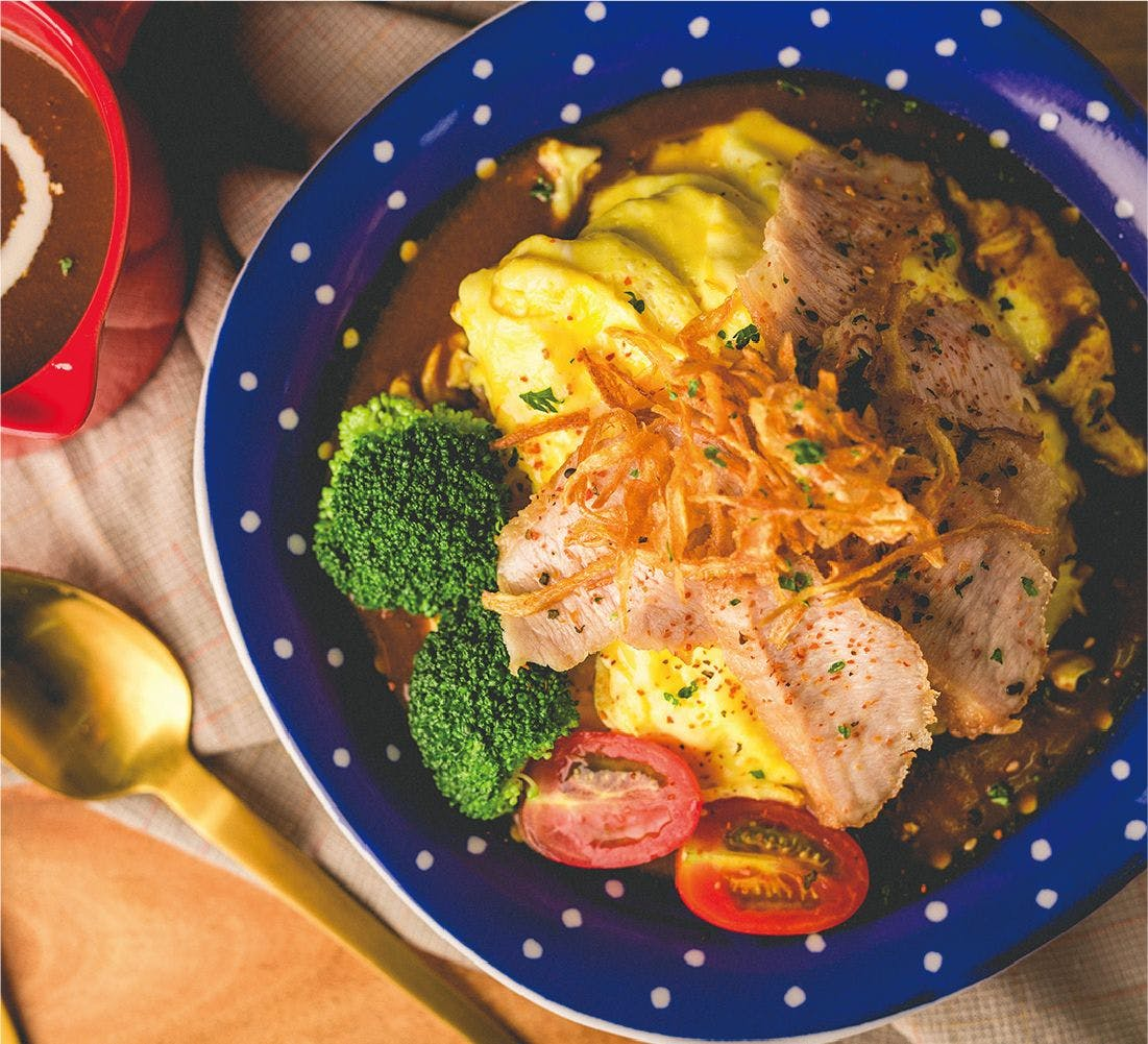 日式松阪豬咖哩飯🌶